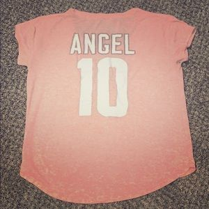 Adorable Angel Jersey Scoop neck T-shirt/Tunic